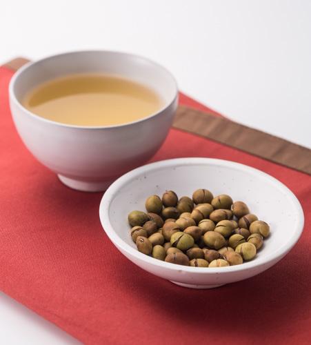 袖振大豆茶